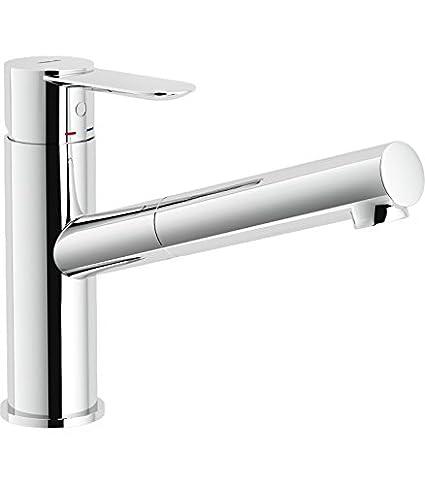 Nobili rubinetterie SA99117CR Miscelatore Lavello Cucina ...