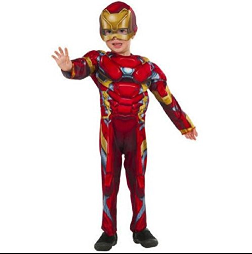 Tony Stark Costume Ideas (Marvel Iron Man Civil War Toddler Costume)
