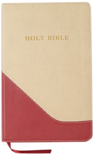 Holy Bible: King James Version, Brick Red/sand, Imitation Leather, Personal Size Giant Print Reference Bible (Hendrickson Bibles)