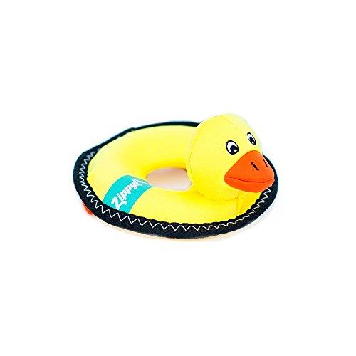 Dog Water Toy (ZippyPaws ZP405 Floaterz Duck Squeak Toy)