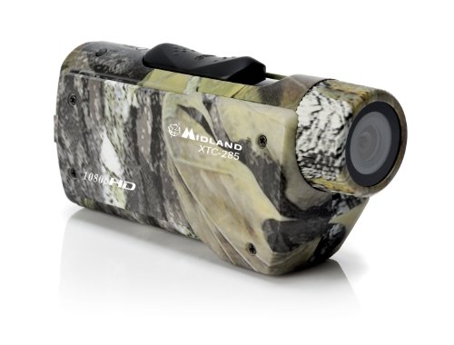 Midland XTC285VP 1080p HD Wearable Action Camera Breakout Case with Image Stabilization and Universal Mount Video Camera (Discontinued by Manufacturer) Action Cameras Midland Consumer Radio