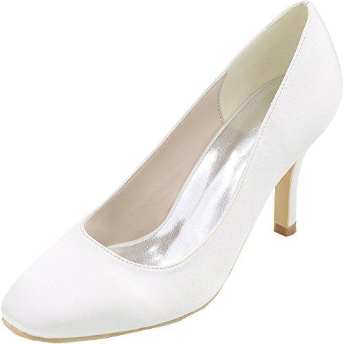 5 Blanc Femme EU Find Nice 36 Sandales Blanc Compensées xwvPx0HZqO