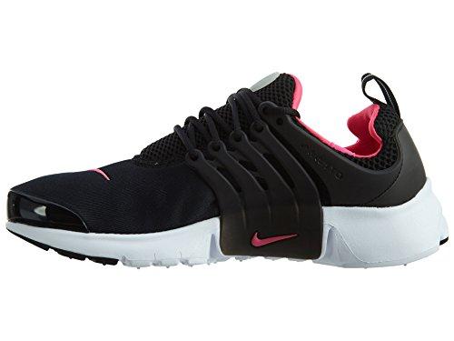 Nike - Presto Gs Youth Kids Scarpa Da Corsa Nero / Iper Rosa-bianco
