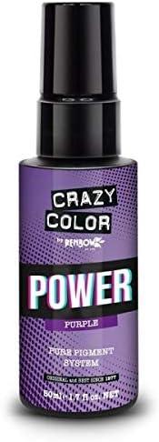 CRAZY COLOR - TINTE Crazy Color Pure Pigment Power Purple ...