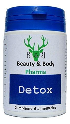 détox Cure détox 120 Cápsulas limpieza del hígado, limpieza del colon, Estreñimiento Cure renouvellable