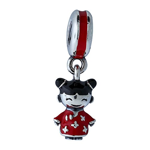 Pandora Pendant Charm Chinese Doll 791431enmx Buy Online