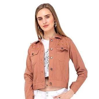 Full Sleeve Self Design Women Jacket