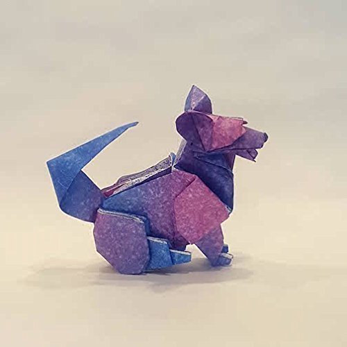 Amazon Handmade Origami Dog Steadfast And Loyal Large Or