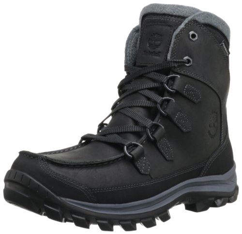 Timberland Men's Chillberg Tall Insulated Boot,Black,10.5 M