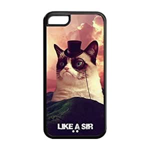 6 4.7 Phone Cases, Grumpy Cat Hard TPU Rubber Cover Case for iphone 6 4.7