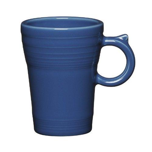 Tree Latte Mug (Fiesta Latte Mug, Lapis (Blue))
