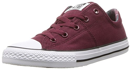 Converse Girls' Chuck Taylor All Star Madison Sneaker, Burgundy, 1 M US Little Kid