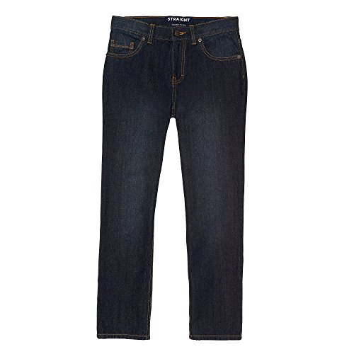 French Toast Little Boys' Straight Fit Jean, Vintage Indigo Wash, 5