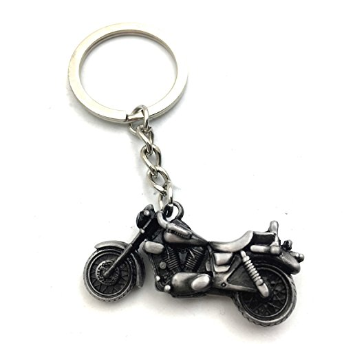 Classic 3D Simulation Model Motorcycle Motorbike Keychain Key Chain Ring Keyring