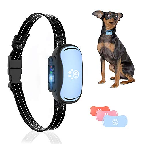 Bark Collar for Medium Dogs – Rechargeable Anti Bark Collar with Sound, Vibration, Shock Modes, Humane No Bark Collar for Small, Large Dogs