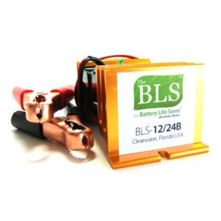Bls Battery Life Saver Desulphator - 12/24 Volt Dc, For Solar/Wind Battery Banks, | BLS-12/24BW by Basandi