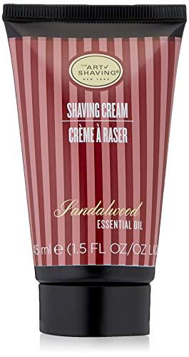 The Art of Shaving Shaving Cream Tube, Sandalwood, 2.5 fl. oz.
