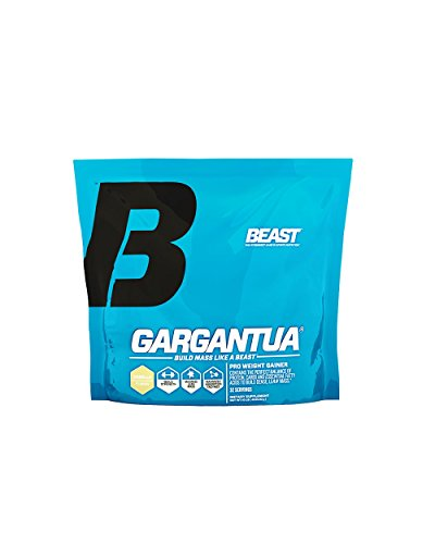 Beast Sports Nutrition, Gargantua Pro Weight Gainer Supplement, Vanilla, 10 Pound