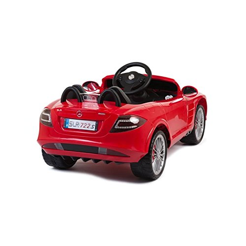 Licensed mercedes benz slr mclaren 722s 12v kids boys for Mercedes benz power wheels car