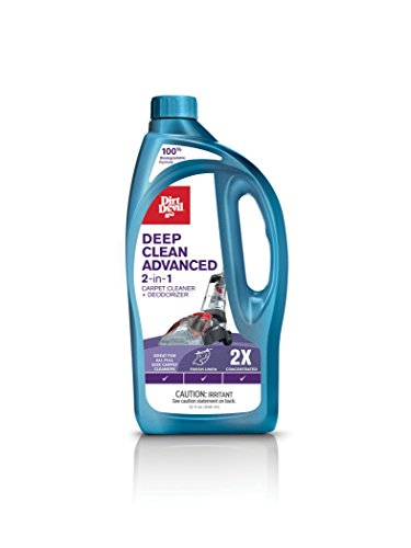 Dirt Devil AD30050 Deep Clean Advance 2X Solution Carpet - Cleaner Devil Dirt Spot