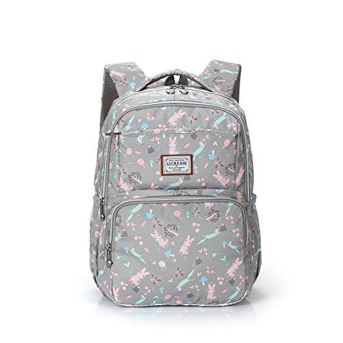 Cute Waterproof High School Backpack Casual Daypack College Student Bookbags Travel Camping Outdoor Business Laptop Bag for Women Men Teens Girls Boys