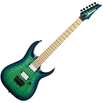 Ibanez Iron Label RGAIX6MQM - Surreal Blue Burst