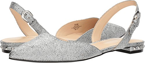 Nine West Women's Althoff Silver Synthetic 9 M US from Nine West