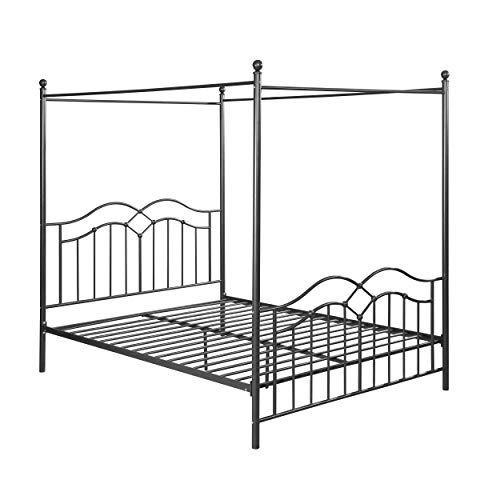 iron canopy bed - 9