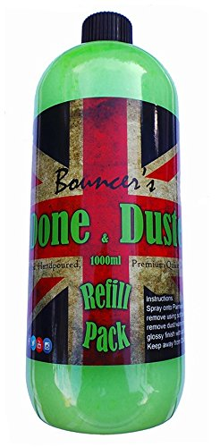 Bouncer's Done & Dusted Quick Detailer 1000ml (1 Litre) Refiil Pack