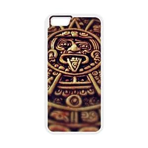 iPhone 6 4.7 Inch Cell Phone Case White Mayan Clock VIU916788