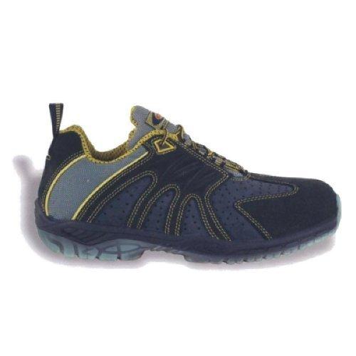 """Cofra 30160-000.W40 S1 P SRC taglia 40 """"Match punto «le scarpe di sicurezza, colore: blu/giallo"""