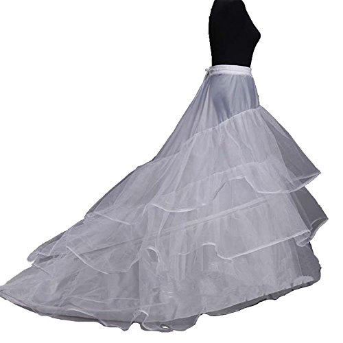 Train Taffeta Wedding Gown - 1
