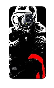 New Anarchy Tpu Case Cover, Anti-scratch Eatcooment Phone Case For Galaxy S5