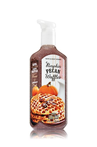 (Bath and Body Works Pumpkin Pecan Waffles Deep Cleansing Hand Soap 8 Ounce Fall)