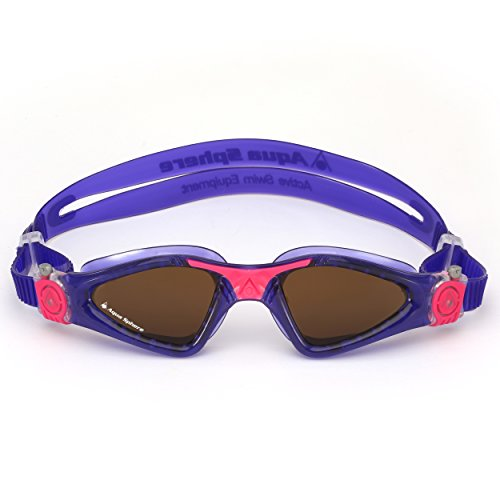 Aqua Sphere Kayenne Ladies Swimming Goggles Polarized Lens, Violet & Pink UV Protection Anto Fog Swim Goggles for Women by Aqua Sphere (Image #3)