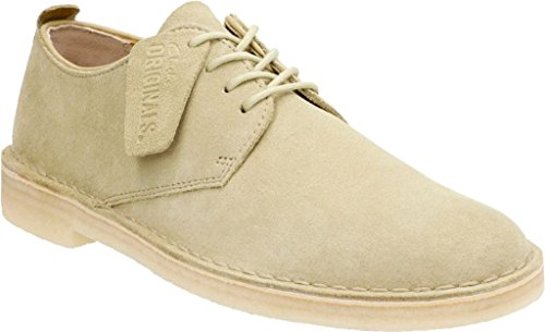 clarks-mens-desert-london-oxford-maple-suede-size-115