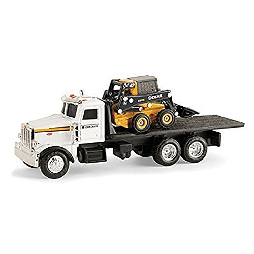 John Deere 1/64 Scale 320E Skid Steer with Truck ERTL 45474