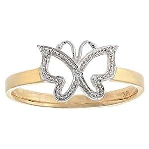 DEVRAHA Ladies 18K Gold Diamond Ring