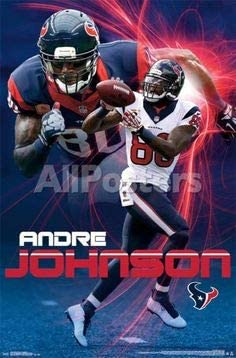 Andre Johnson Houston Texans Poster FREE US SHIPPING
