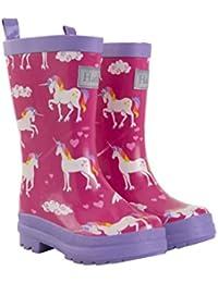 Girls' Printed Rain Boot