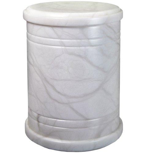 Alabaster Stone Cremation Urn Full Size-Radiant (Alabaster Urn compare prices)