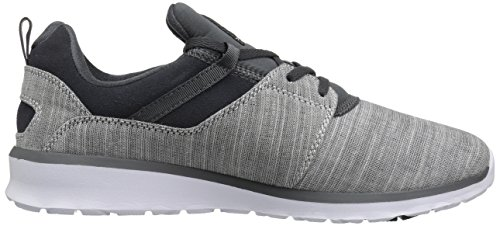 Dc Hommes Heathrow Se Skate Skateboard Chaussure Gris Chiné