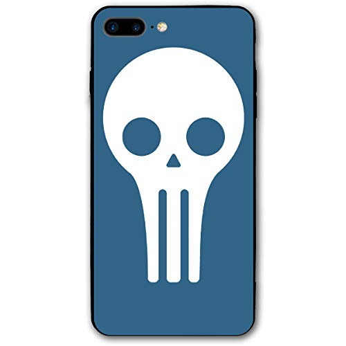 Slim-Fit Ultra-Thin Anti-Scratch Shock Proof Dust Proof Alien Skull Case for iPhone 7/8 Plus]()