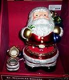 St Nicholas Square Santa Music Box