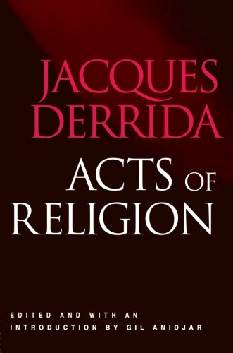 Read Online Acts of Religion PDF