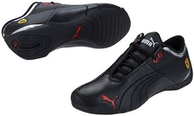 Amazon Com Puma Men S Ferrari Future Cat M1 Sf Shoes Black Red 7 Fashion Sneakers