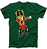Dabbing Nutcracker Funny Christmas T-Shirt Forest Small
