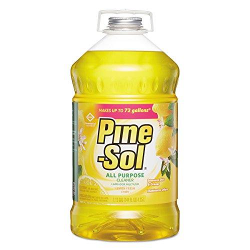 Clorox 35419 Pine-Sol Lemon Fresh All-Purpose Cleaner Bottle,144-Ounce - Online Sol