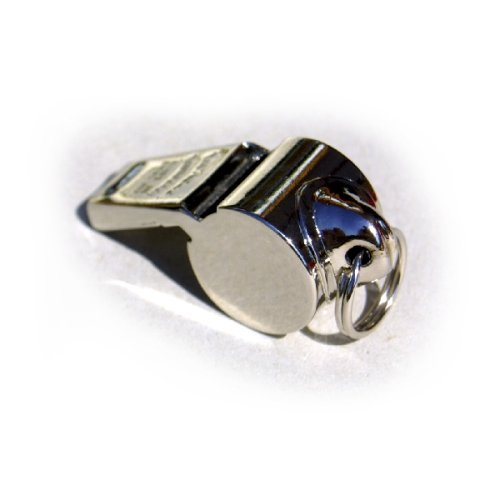 nickel plated whistle - 3