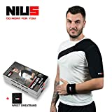 Shoulder Support Brace - Dislocated Shoulder Brace | Quality Shoulder Support, Brace Immobilizer, Brace Rotator Cuff, AC Joint, Compression Shoulder Brace ONE Size - by NIUS Brand